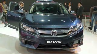 Auto Expo Motor Show 2018 India | Honda Brio | Honda C RV | Honda Civic | Honda Amaze