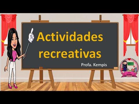 Download Actividades recreativas