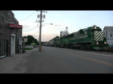 Illinois Railnet at Yorkville, Illinois, with Nathan M5