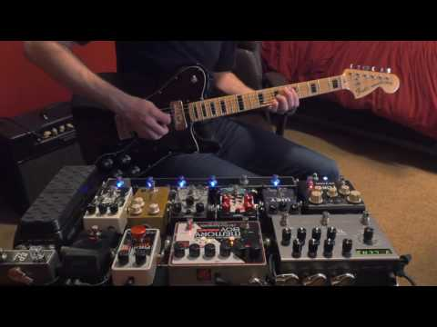 Late  Pedalboard - Fender Telecaster Deluxe McNelly Pickups + Matchless Lightning 15