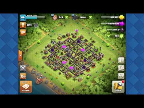 Unlimited Gold Elixir Dark Elixir in New Update Clash of Clans [Patched]--Loot Cart Glitch