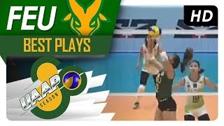 UAAP 80 WV: Kyle Negrito gets fancy with the drop ball! | FEU | Best Plays