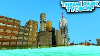 NEW YORK CITY in Theme Park Tycoon 2! - Roblox