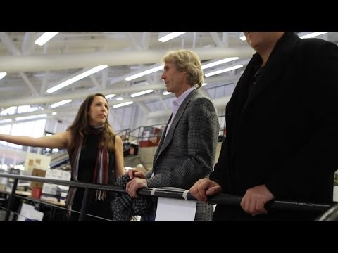 Michael Bay Visits Harvard Graduate School of Design