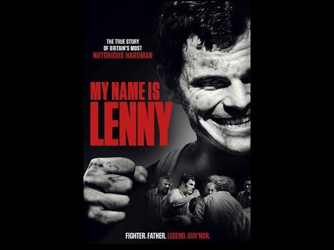 Lenny Mclean (Official film poster..My name is Lenny)