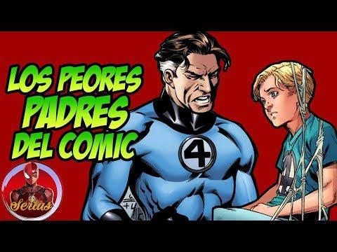 7 Peores padres del Comic