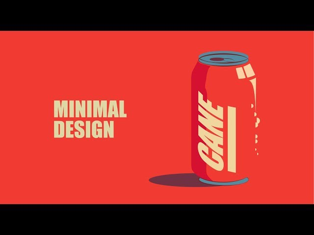 Minimalist Can Design | Adobe Illustrator