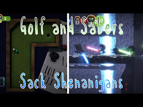 [28] Sack Shenanigans (Little Big Planet 2 w/ GaLm and the Derp Crew)