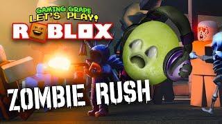 Roblox: ZOMBIE RUSH! [Uva de juego]