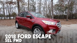 🔵 New 2018 Ford Escape SEL FWD - REVIEW / Walkaround @ Ravenel Ford