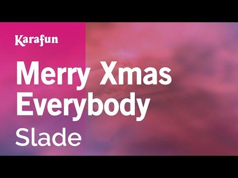 Karaoke Merry Xmas Everybody - Slade *