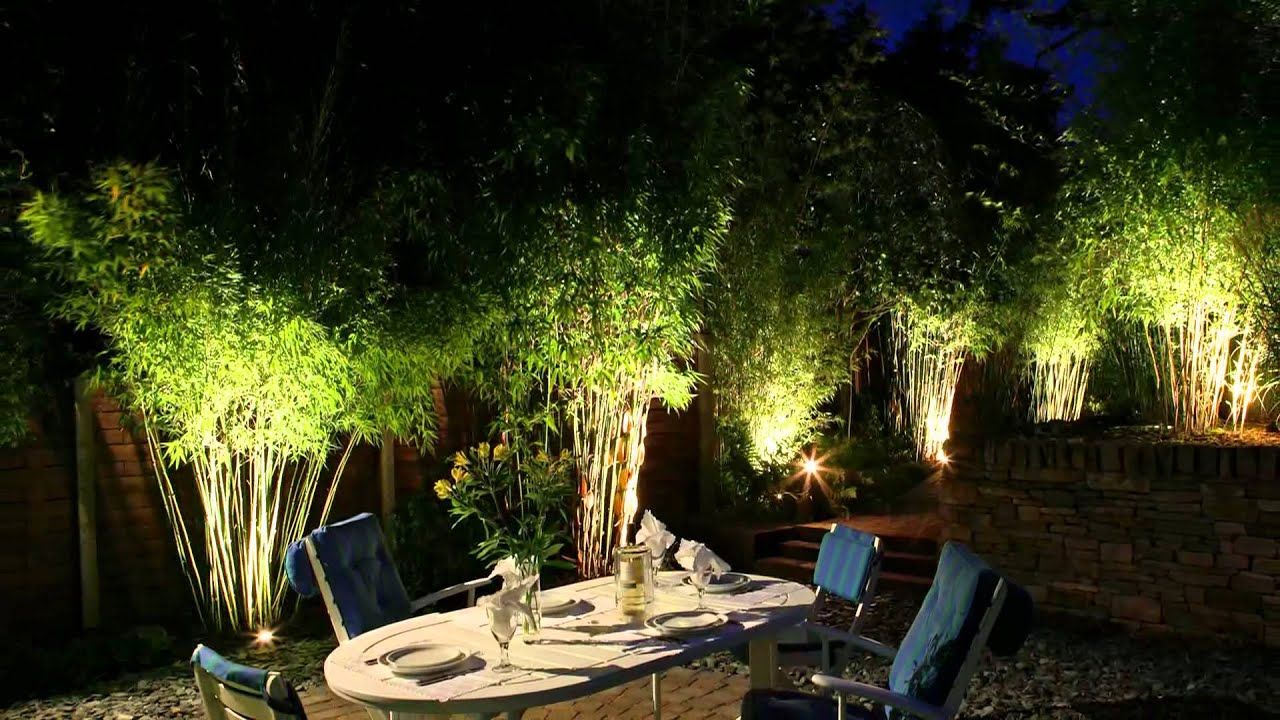 moonlight design garden lighting specialists youtube - Garden Lighting