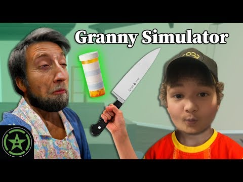 PUT DOWN THE KNIFE! - Granny Simulator | Play Pals