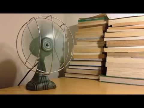 Vintage 1940s Dominion Desk Fan