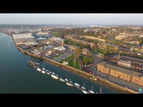 Landmarks Along The River Medway
