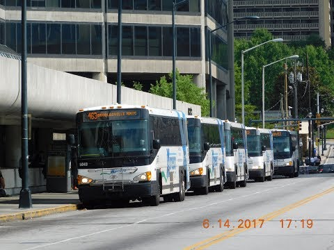 CobbLinc, GRTA Xpress & Gwinett County Transit (Atlanta): Bus Observations (June 2017) - Part 1/1