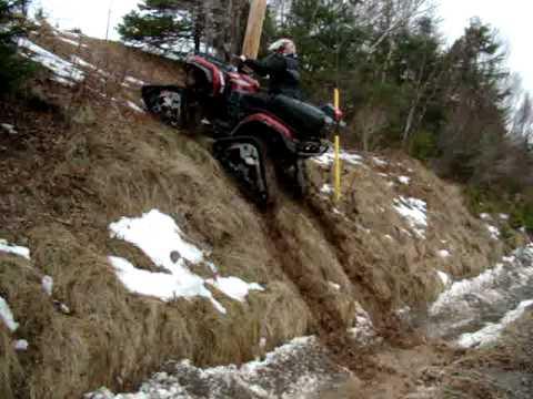 Yamaha Grizzly 660 >> yamaha grizzly hill climb - YouTube