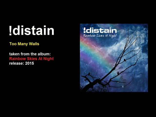 !distain - Too Many Walls