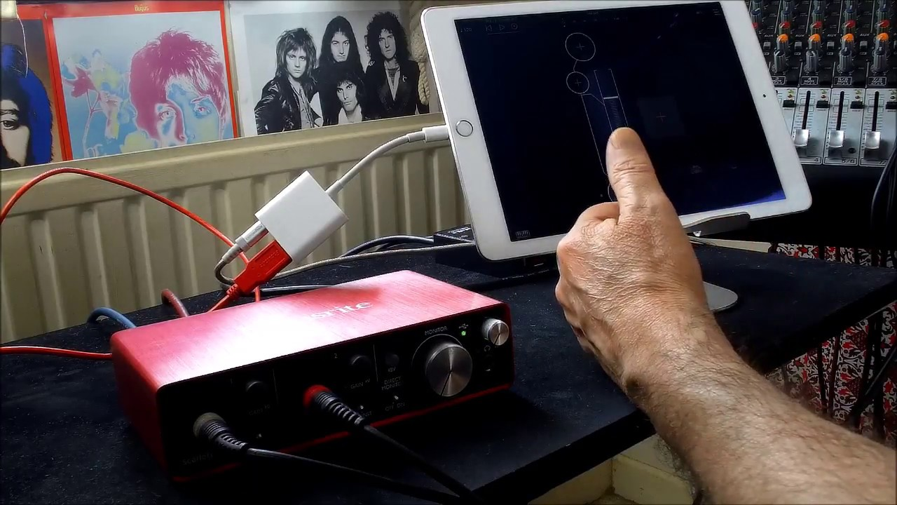 carte son externe scarlett 2i2 Focusrite Scarlett 2i2   FULL Set Up Tutorial & Demo for the iPad