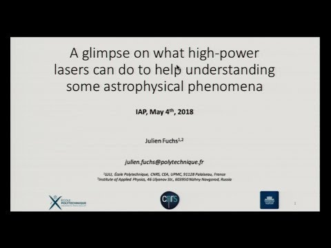High-power laser pulses and strong magnetization as tools for investigating astrophysical phenomena