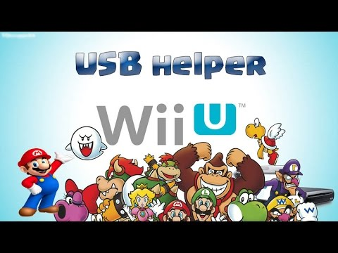Tutorial Wiiu USB helper by Gameradict