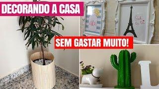 Ideias FÁCEIS e BARATAS de decoração para CASA- DIY