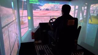 Komatsu 960E Haul Truck Simulator - CYBERMINE