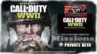 New Call of Duty WW2 Offiial Trailer With Story Details