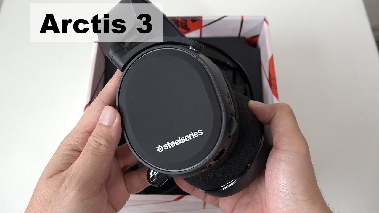 steelseries arctis 3 gaming headset unboxing youtube. Black Bedroom Furniture Sets. Home Design Ideas