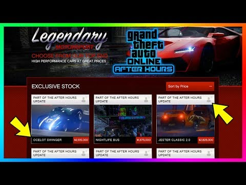 GTA Online After Hours DLC - How Much Money You Need To Buy EVERYTHING - Cars, Nightclubs & MORE!