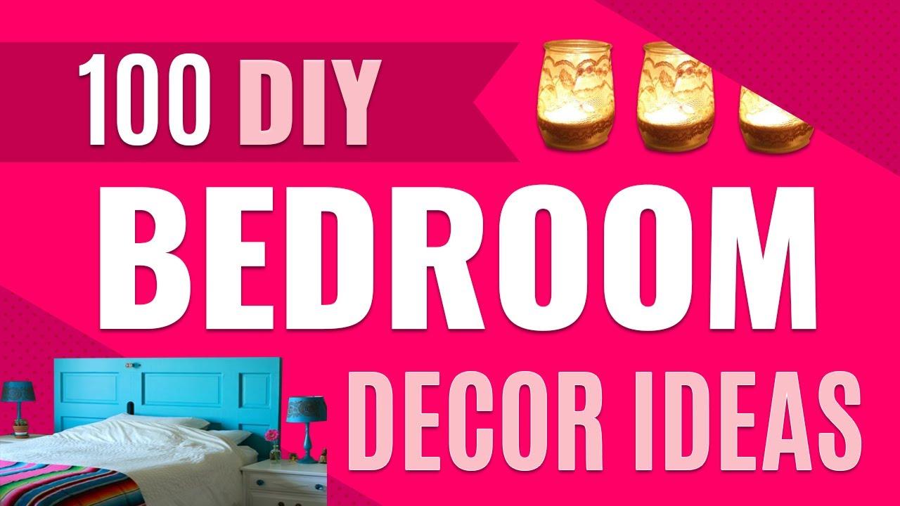 100 Diy Bedroom Decor Ideas Dyi Room Decor On A Budget Youtube