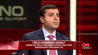 Cumhurbaşkanı adayı Selahattin Demirtaş konuk oldu: Ne Oluyor - 08.07.2014