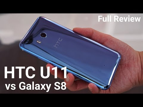 HTC U11 (6GB RAM) Full Review vs Galaxy S8 Camera & Speed Comparison!