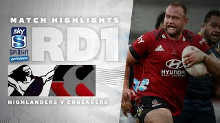ROUND ONE: Highlanders v Crusaders (Sky Super Rugby Aotearoa - 2021)
