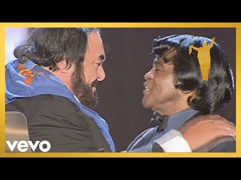 Luciano Pavarotti, James Brown - It's A Man's Man's Man's World (Stereo)
