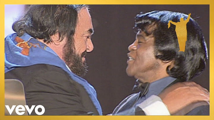 luciano pavarotti james brown  its a mans mans mans world stereo