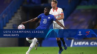 UEFA Champions League | Chelsea v Sevilla | Highlights