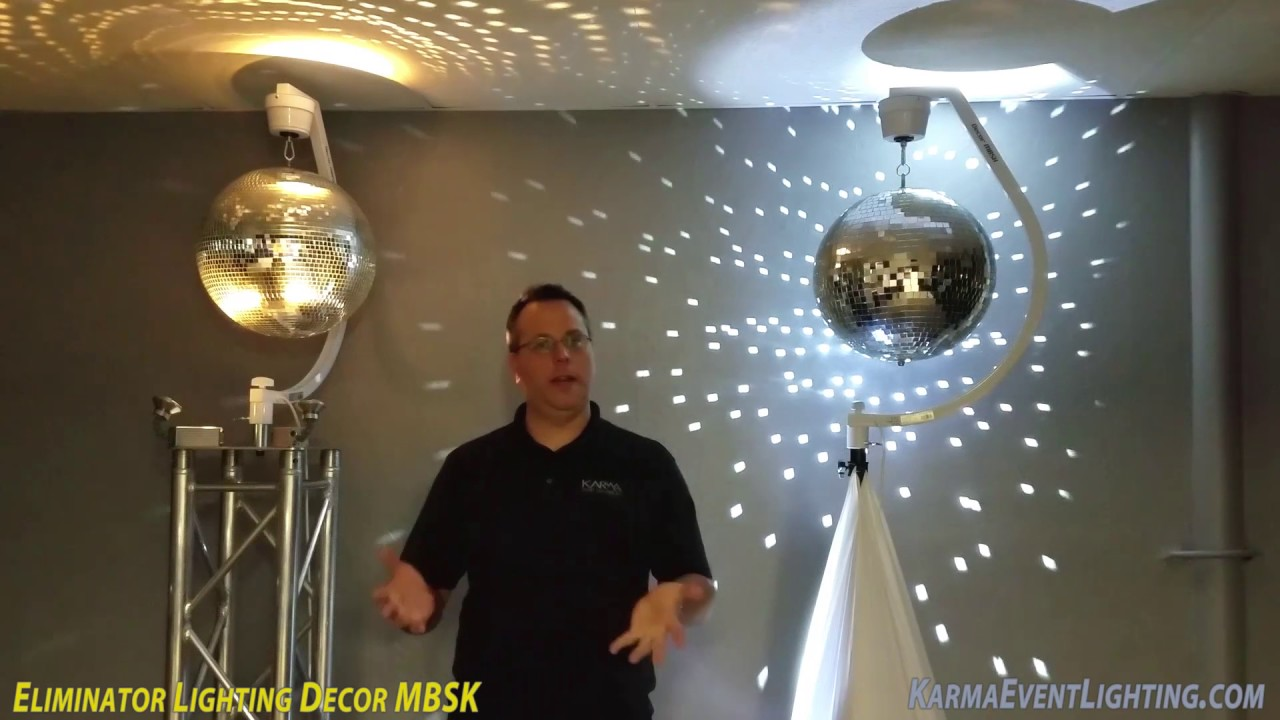 Eliminator Lighting Decor MBSK on Truss Review by Karma Event Lighting