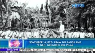 November 14, 1875, birth date of General Gregorio del Pilar