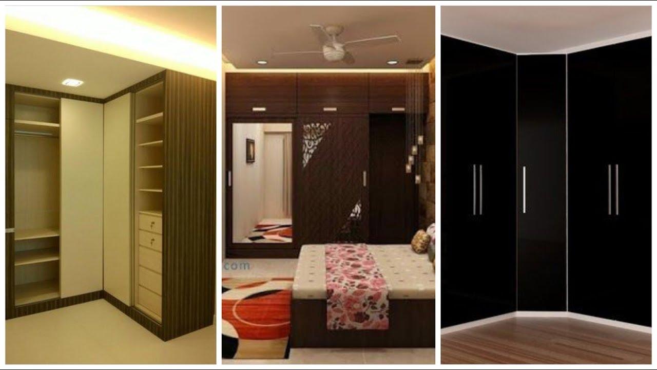 Beautiful And Stylish Bed Room Almari Cabinets Corner Type Wall Decoration Designing Ideas Youtube