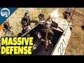 PORT DEFENSE LINE, BIG ATTACK AMBUSH | Men of War: Assault Squad 2 Gameplay