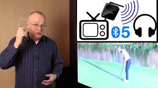 tv-audio-to-headphones-transmitter-lag-test-quick-vid