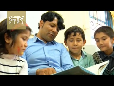 Learning center in Indonesia provides education for Afghan refugees
