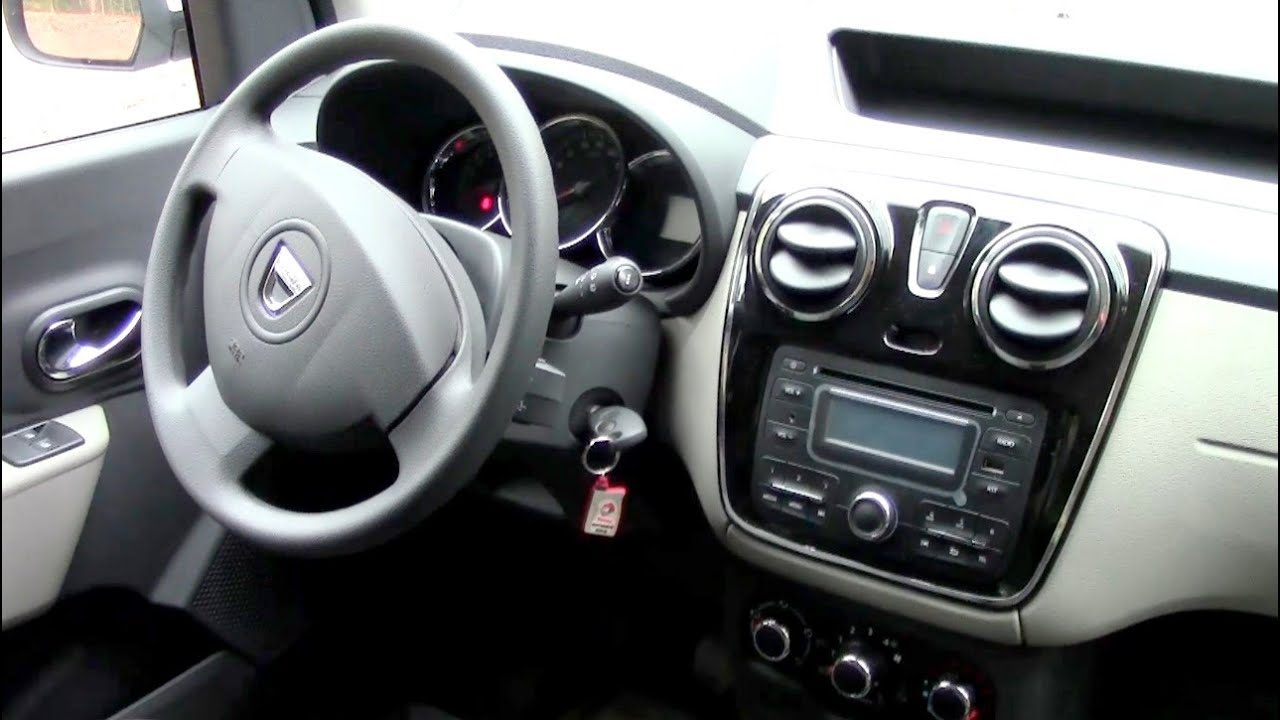 4392cfbcbe 2016 Dacia Dokker interior Arctica - YouTube