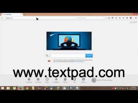 How to Install Textpad to Run Java Programs (HD)