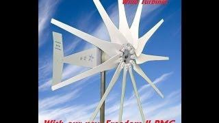 Missouri Wind and Solar General Freedom ll PMG Wind Turbine output