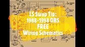 1995 Chevy 1500 Ignition Switch Wiring Diagram Youtube