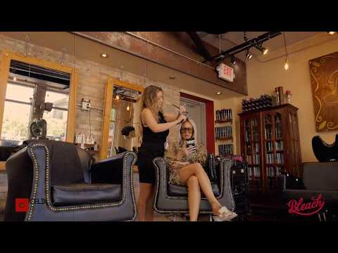 Promo Video We Created for Bleach Hair Addiction in Miami