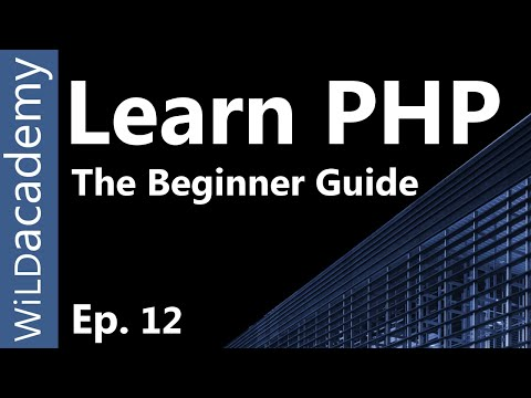 Learn PHP - PHP Programming Tutorial - 12 thumbnail