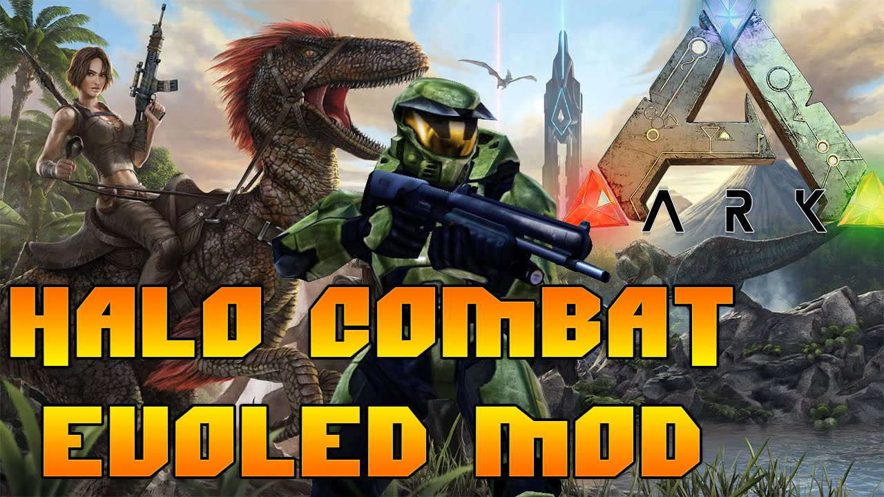 Ark survival evolved halo combat evolved map mod youtube ark survival evolved halo combat evolved map mod sciox Images